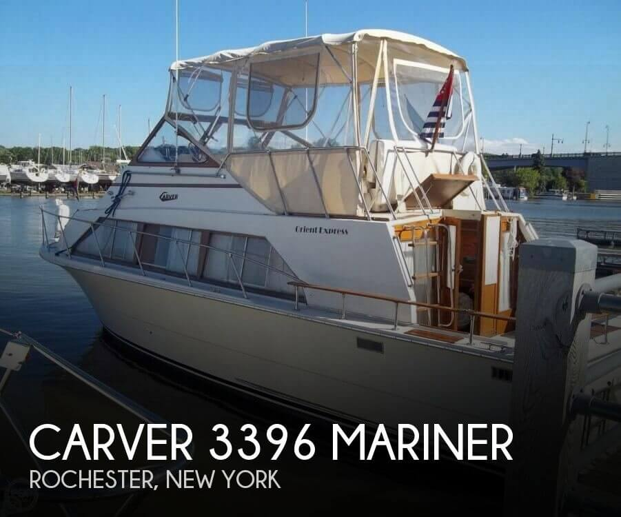 Used Carver Boats For Sale in New York by owner | 1978 Carver 33