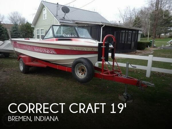 Used Boats For Sale in Fort Wayne, Indiana by owner | 1988 Nautique 19