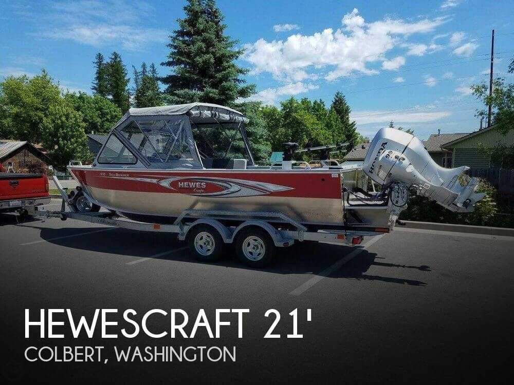 Used Boats For Sale in Spokane, Washington by owner | 2016 Hewescraft 20