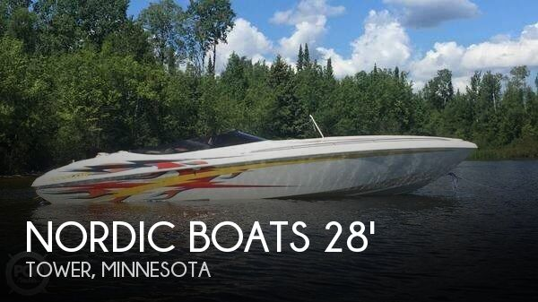 Used Boats For Sale in Duluth, Minnesota by owner | 2004 Nordic Boats 28