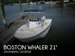 2001 Boston Whaler 21 Outrage