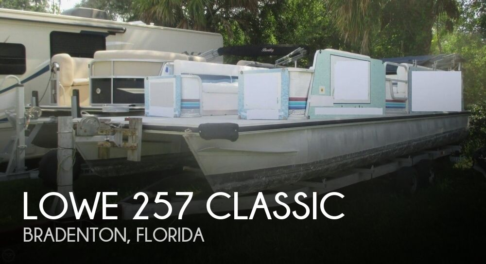 1992 LOWE 257 CLASSIC for sale