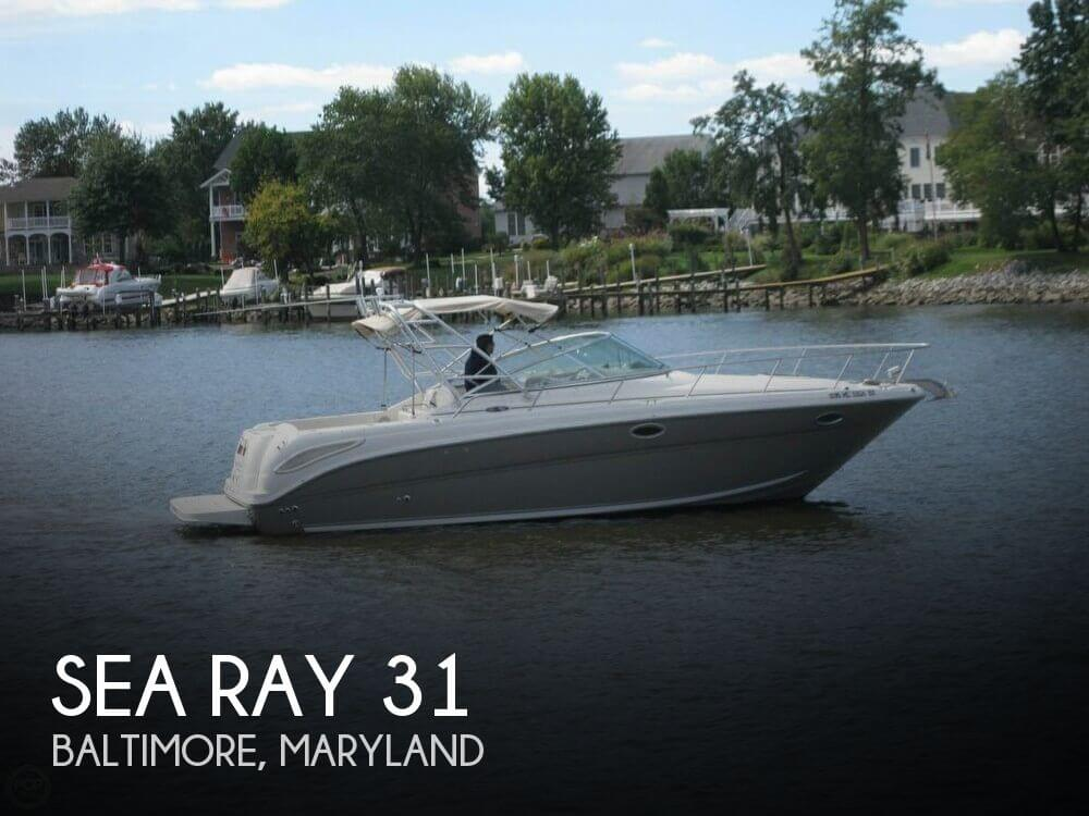 Used Sea Ray Boats For Sale in Maryland by owner | 2006 Sea Ray 31