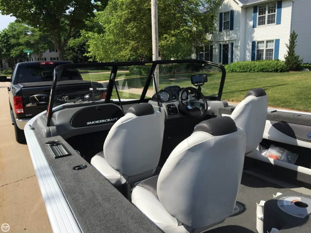 2016 Smoker Craft boat for sale, model of the boat is 172 Ultima & Image # 40 of 41