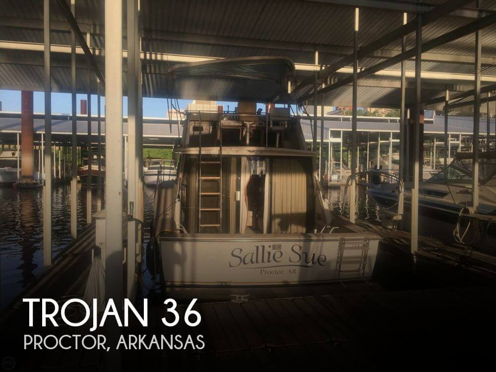 Used Boats For Sale in Memphis, Tennessee by owner | 1979 Trojan 36