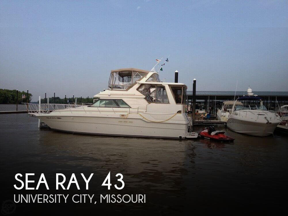 Used Boats For Sale in St. Louis, Missouri by owner | 1988 Sea Ray 43