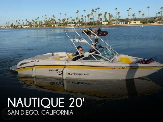 Used Nautique Boats For Sale by owner | 2008 Nautique 211 Crossover