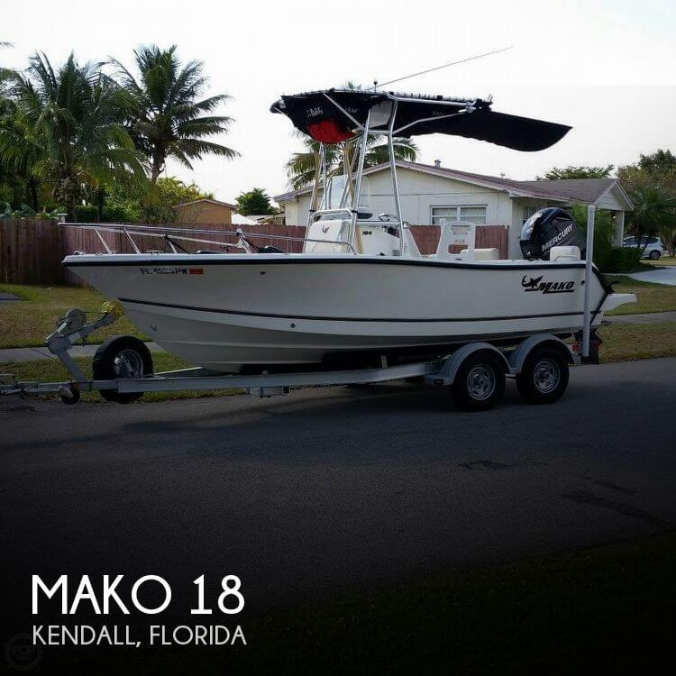 Used MAKO Boats For Sale in Florida by owner | 2014 Mako 18