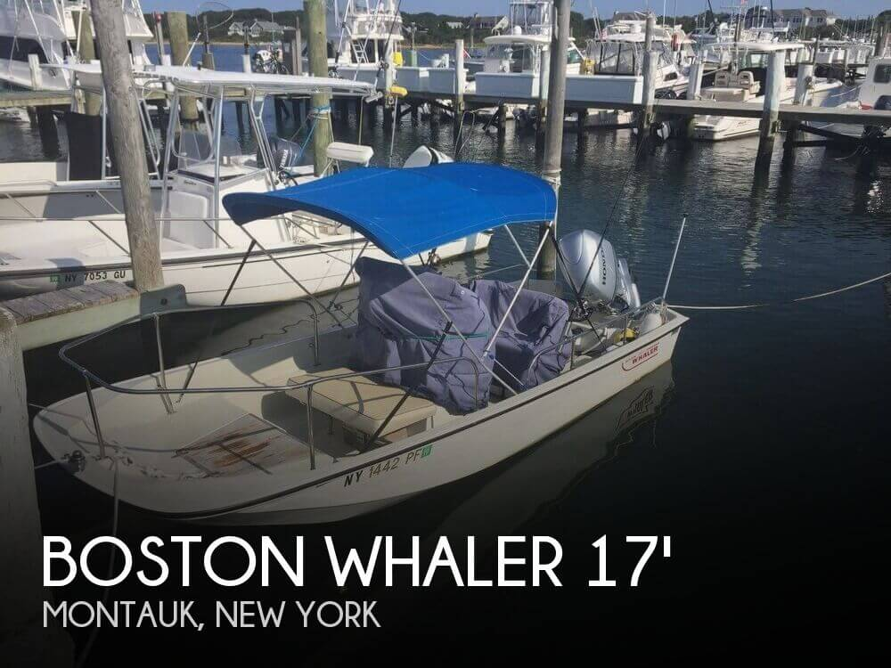 Used Boston Whaler Boats For Sale in New York by owner | 1983 Boston Whaler 17