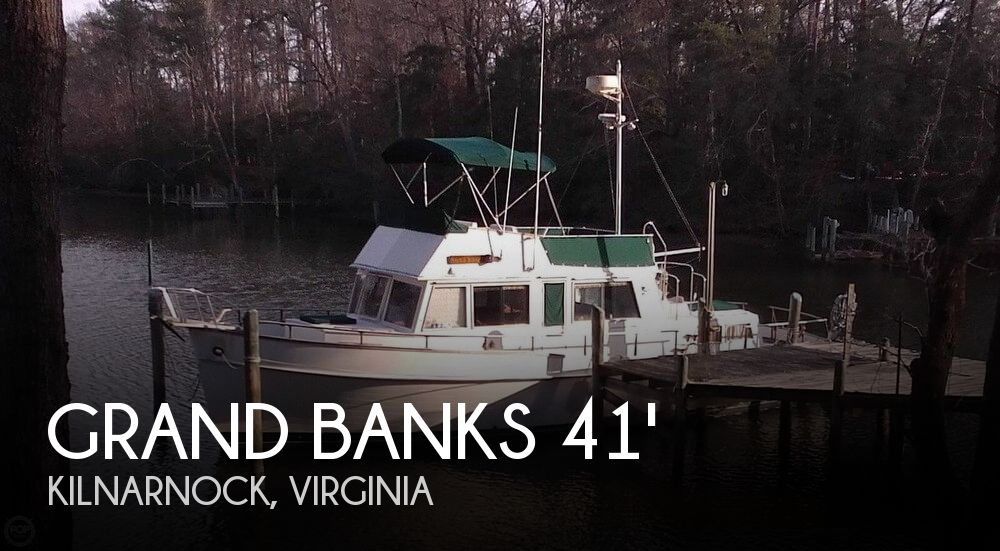 Used GRAND BANKS Boats For Sale by owner | 1980 Grand Banks 41