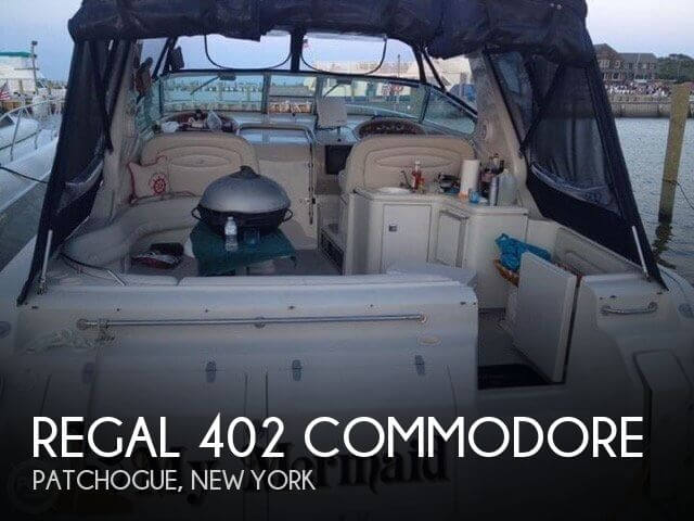 Used Regal 40 Boats For Sale by owner | 1997 Regal 402 Commodore