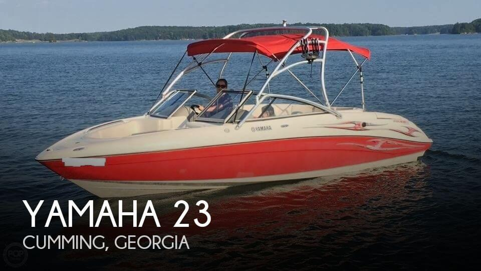 Used Yamaha Boats For Sale in Georgia by owner | 2005 Yamaha 23