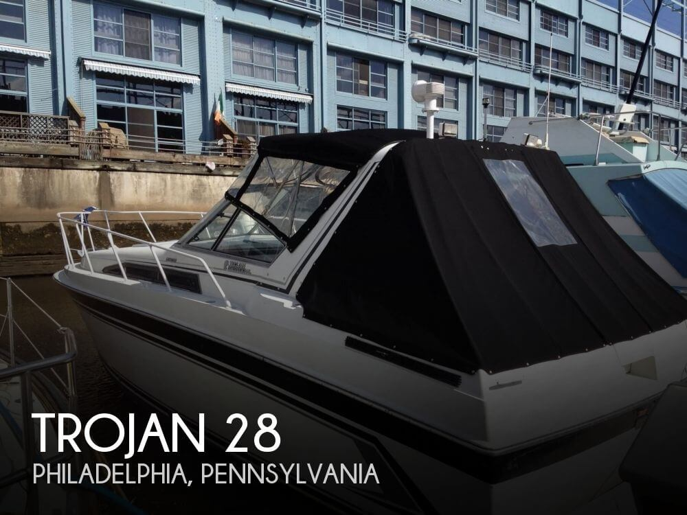 Used Boats For Sale in Allentown, Pennsylvania by owner | 1990 Trojan 28