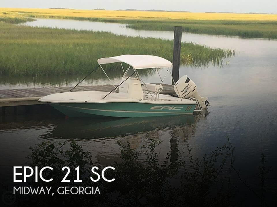 Used Epic Boats For Sale by owner | 2016 Epic 21