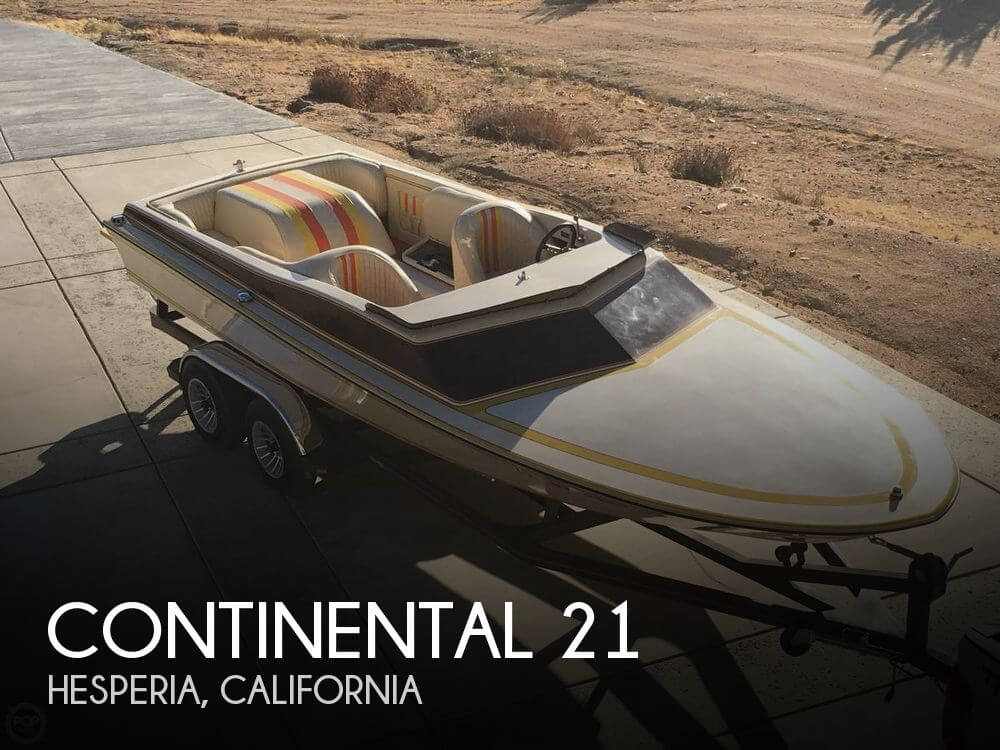 1978 Continental Boats 21