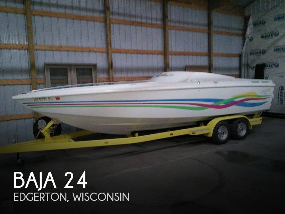 Used Boats For Sale in Madison, Wisconsin by owner | 1995 Baja 24
