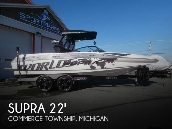 Used Boats For Sale in Saginaw, Michigan by owner | 2013 Supra 22
