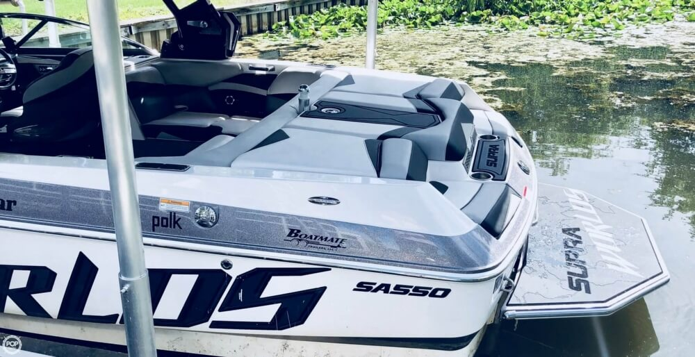 2013 Supra boat for sale, model of the boat is SA550 Worlds Edition & Image # 10 of 40