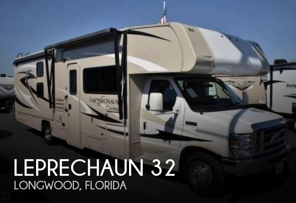 2015 Coachmen Leprechaun 32