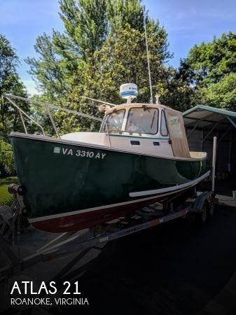 Used Boats For Sale in Roanoke, Virginia by owner | 2001 Atlas 21