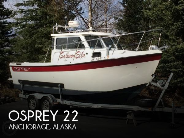 Used Boats For Sale in Anchorage, Alaska by owner | 1995 Osprey 22