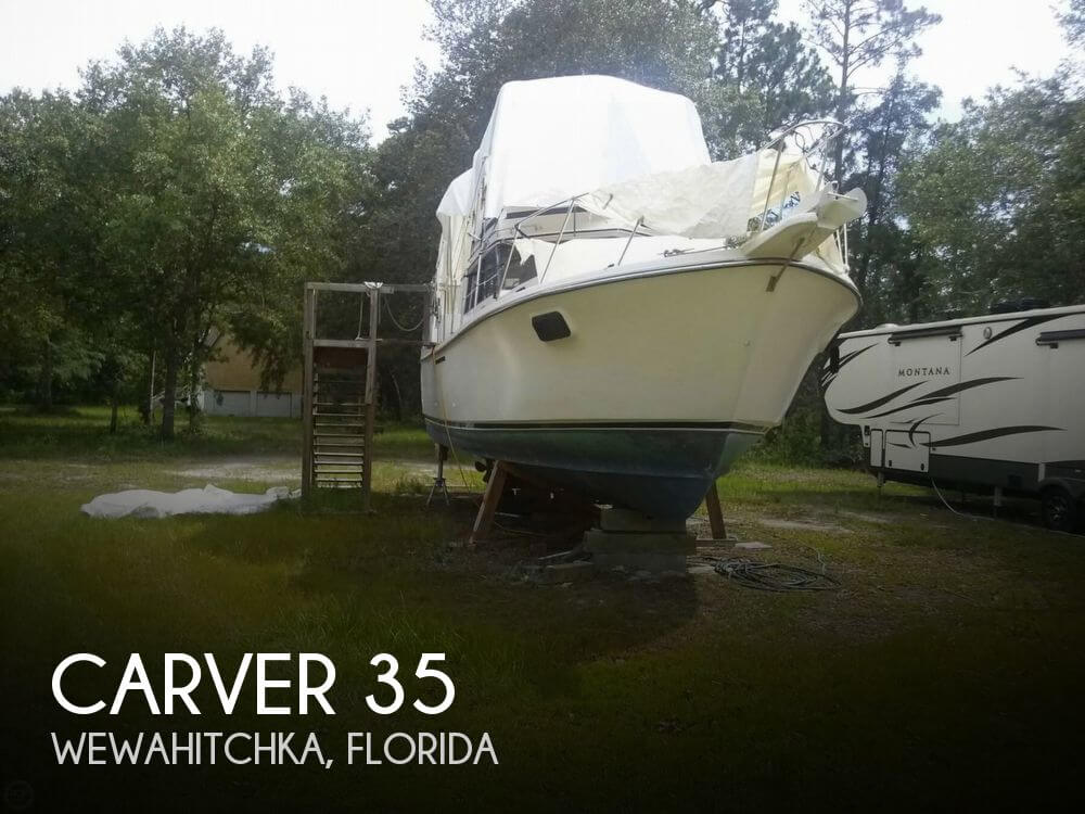 Used Carver 35 Boats For Sale by owner | 1985 Carver 35