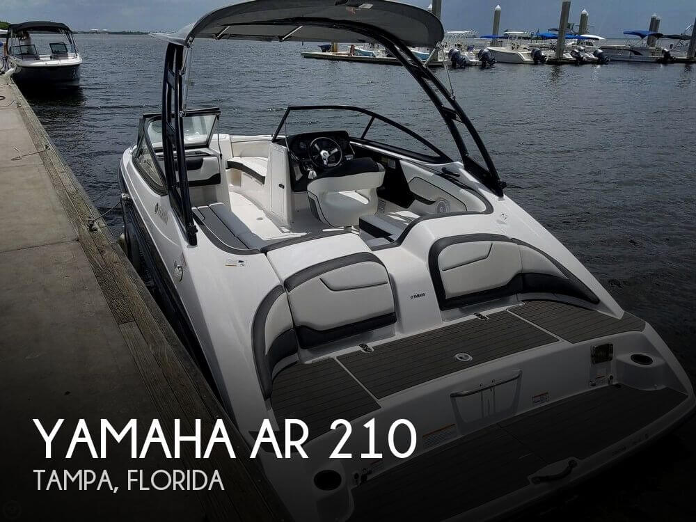 Used Yamaha Ski Boats For Sale by owner | 2017 Yamaha AR 210