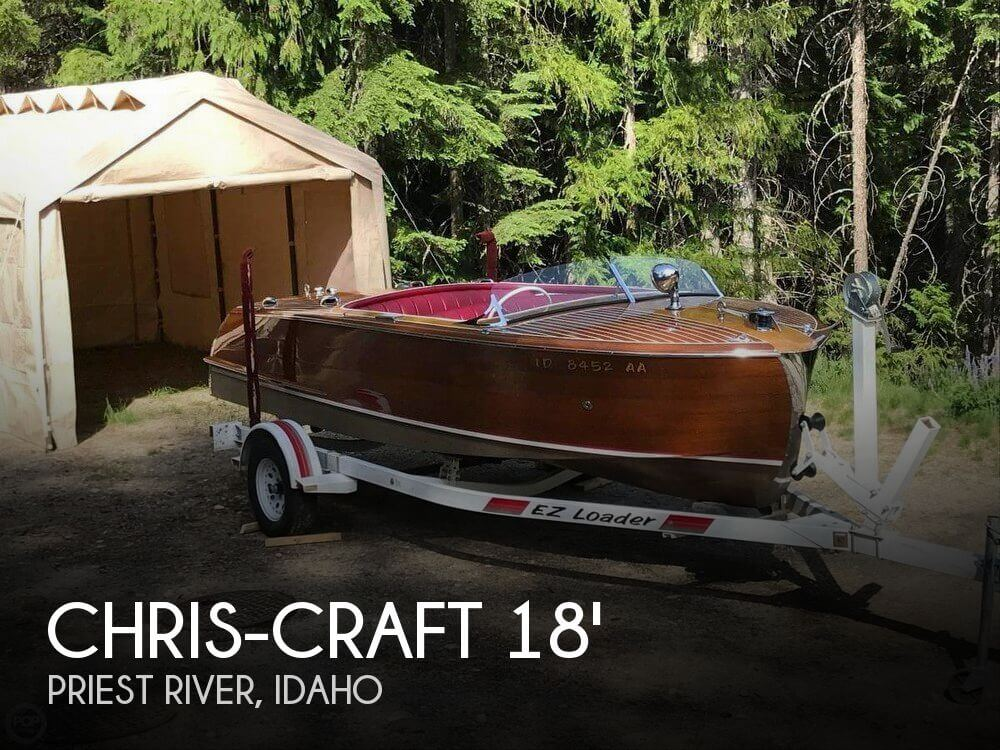 Used Chris Craft Ski Boats For Sale by owner | 1951 Chris-Craft 18