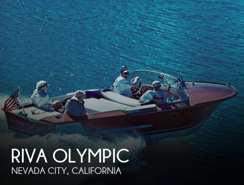 Used Ski Boats For Sale in California by owner | 1969 Riva 21