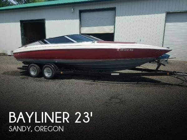 Used Bayliner 23 Boats For Sale by owner   1989 Bayliner 23