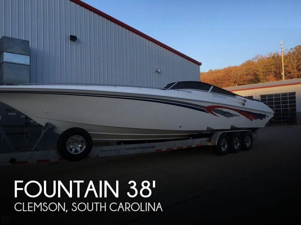 Used Boats For Sale in Greenville, South Carolina by owner | 2006 Fountain 38