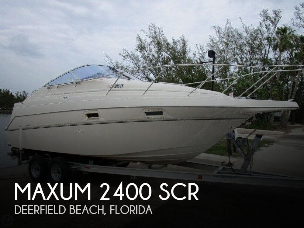 Used Maxum 24 Boats For Sale by owner | 1999 Maxum 24