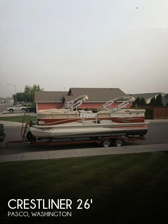Used Pontoon Boats For Sale by owner | 2008 Crestliner 26