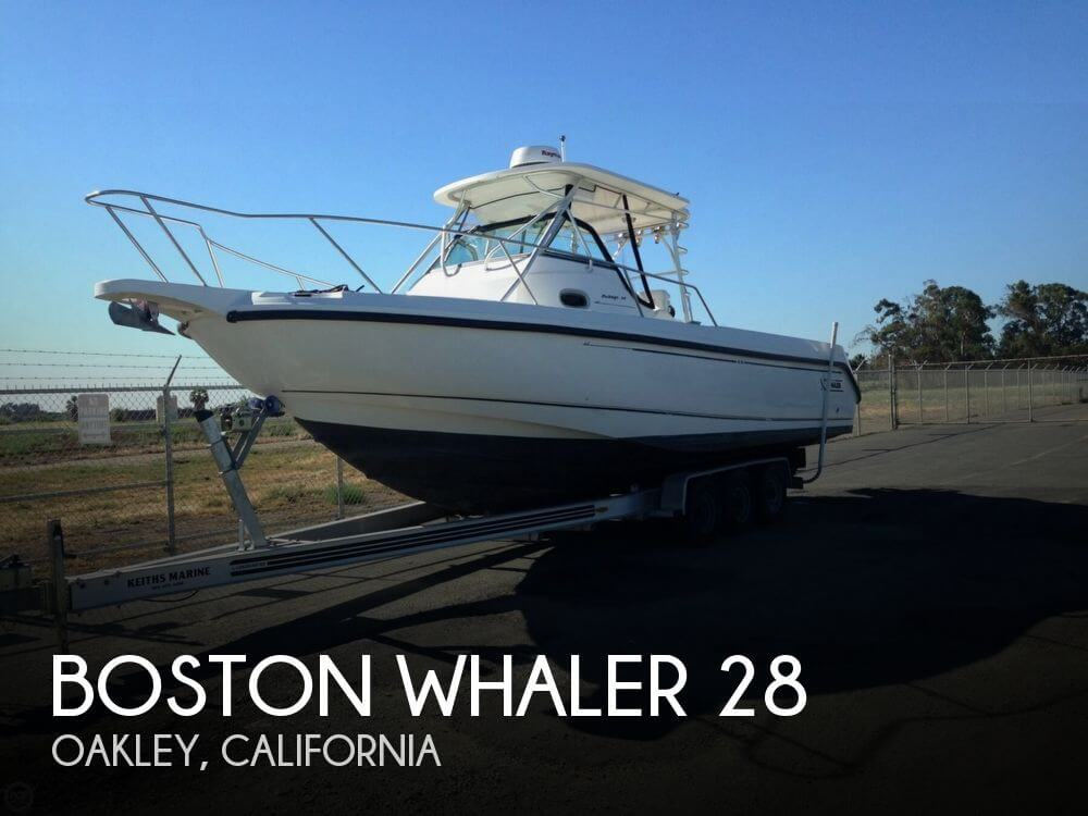 Used Boats For Sale in Santa Rosa, California by owner | 2001 Boston Whaler 28