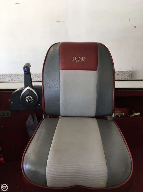 1990 Lund boat for sale, model of the boat is Pro V 1700 Deluxe & Image # 7 of 40