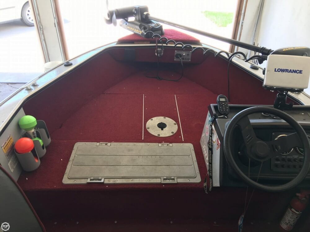 1990 Lund boat for sale, model of the boat is Pro V 1700 Deluxe & Image # 11 of 40