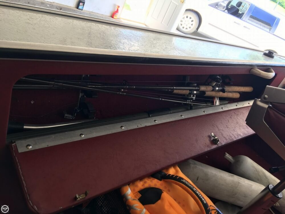 1990 Lund boat for sale, model of the boat is Pro V 1700 Deluxe & Image # 23 of 40
