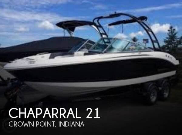 Used Boats For Sale in South Bend, Indiana by owner | 2016 Chaparral 21