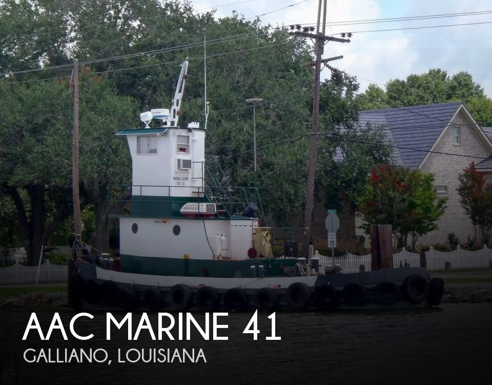 1962 AAC Marine boat for sale, model of the boat is 41 & Image # 1 of 40