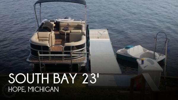 Used Pontoon Boats For Sale in Michigan by owner | 2016 South Bay 23
