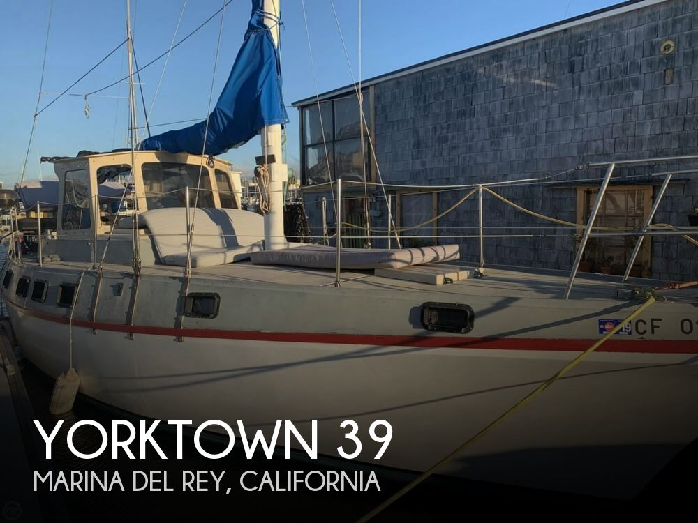 1977 Yorktown boat for sale, model of the boat is 39 & Image # 1 of 40