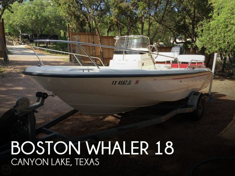 Used Boston Whaler Boats For Sale in Texas by owner | 2000 Boston Whaler 18