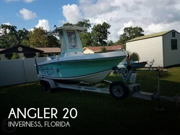 Used Angler Boats For Sale by owner | 2006 Angler 20