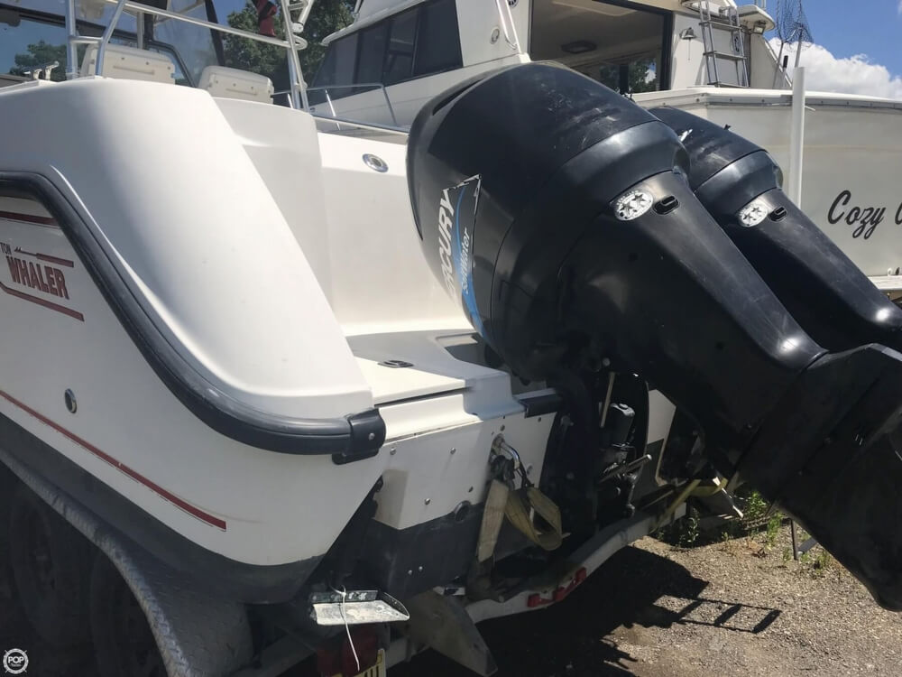 2003 Boston Whaler boat for sale, model of the boat is 290 Outrage & Image # 32 of 40