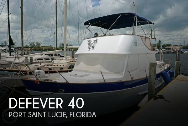 Used Defever Boats For Sale by owner | 1974 Defever 40
