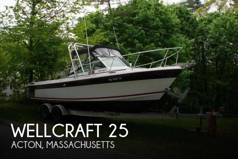 Used Wellcraft 25 Boats For Sale by owner | 1985 Wellcraft 25
