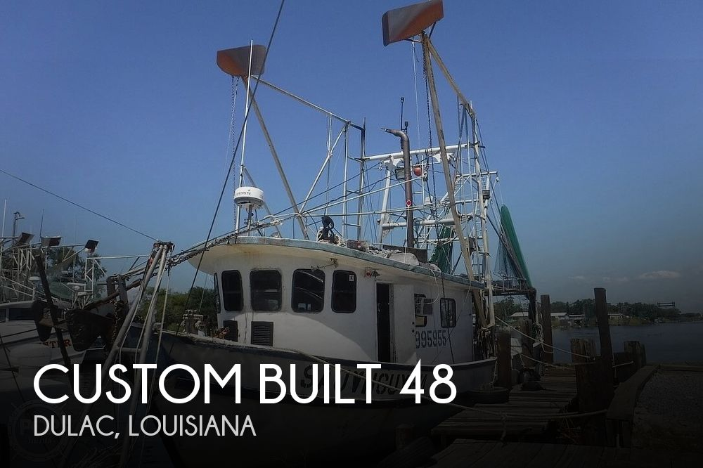 1987 Custom boat for sale, model of the boat is 48 & Image # 1 of 40