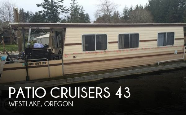 Used Houseboats For Sale by owner | 1986 Patio Cruisers 43