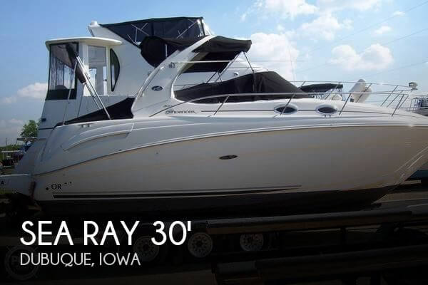Used Boats For Sale in Davenport, Iowa by owner | 2004 Sundancer 33