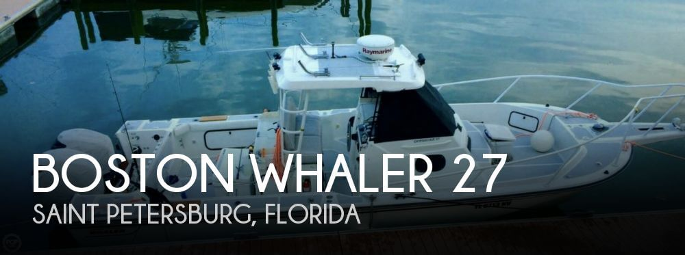 Used Boston Whaler Boats For Sale by owner | 1997 Boston Whaler 27